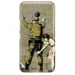 ETUI NA TELEFON HTC U11 LIFE BANKSY WZÓR BK135