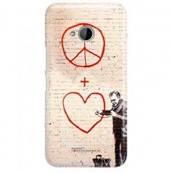 ETUI NA TELEFON HTC U11 LIFE BANKSY WZÓR BK146