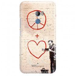 ETUI NA TELEFON HTC U11 PLUS BANKSY WZÓR BK146