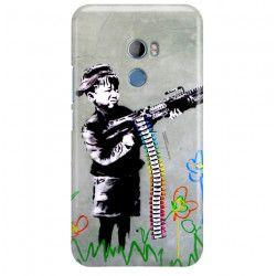 ETUI NA TELEFON HTC U11 PLUS BANKSY WZÓR BK162