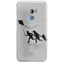 ETUI NA TELEFON HTC U11 PLUS BANKSY WZÓR BK168