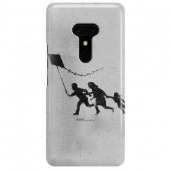 ETUI NA TELEFON HTC U12 PLUS BANKSY WZÓR BK168