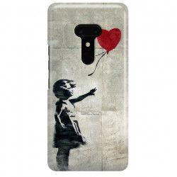 ETUI NA TELEFON HTC U12 PLUS BANKSY WZÓR BK179
