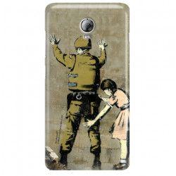 ETUI NA TELEFON LENOVO VIBE P1 P1MC50 BANKSY WZÓR BK135