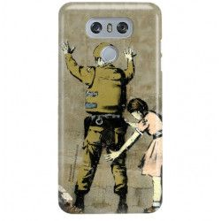 ETUI NA TELEFON LG G6 H870 BANKSY WZÓR BK135