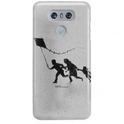 ETUI NA TELEFON LG G6 H870 BANKSY WZÓR BK168