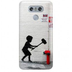 ETUI NA TELEFON LG G6 H870 BANKSY WZÓR BK178