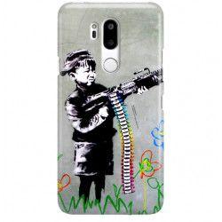 ETUI NA TELEFON LG G7 LMG710 BANKSY WZÓR BK162