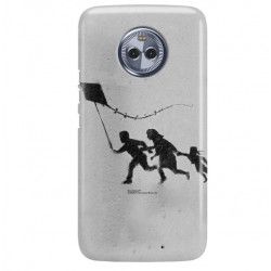 ETUI NA TELEFON MOTOROLA MOTO X4 BANKSY WZÓR BK168