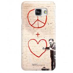 ETUI NA TELEFON SAMSUNG GALAXY A7 2016  A710 BANKSY WZÓR BK146