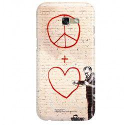 ETUI NA TELEFON SAMSUNG GALAXY A7 2017 A720 BANKSY WZÓR BK146