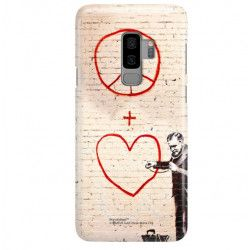 ETUI NA TELEFON SAMSUNG GALAXY S9 PLUS G965 BANKSY WZÓR BK146