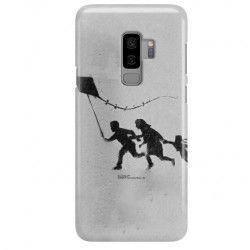 ETUI NA TELEFON SAMSUNG GALAXY S9 PLUS G965 BANKSY WZÓR BK168