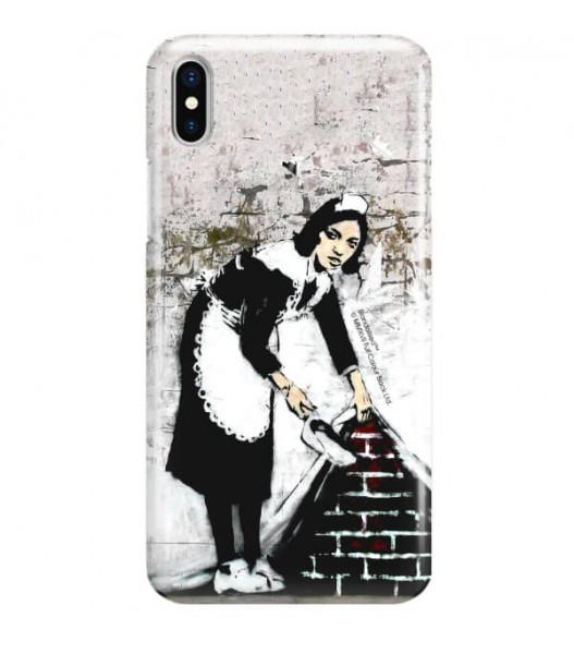 iPHONE X BANKSY WZÓR BK100