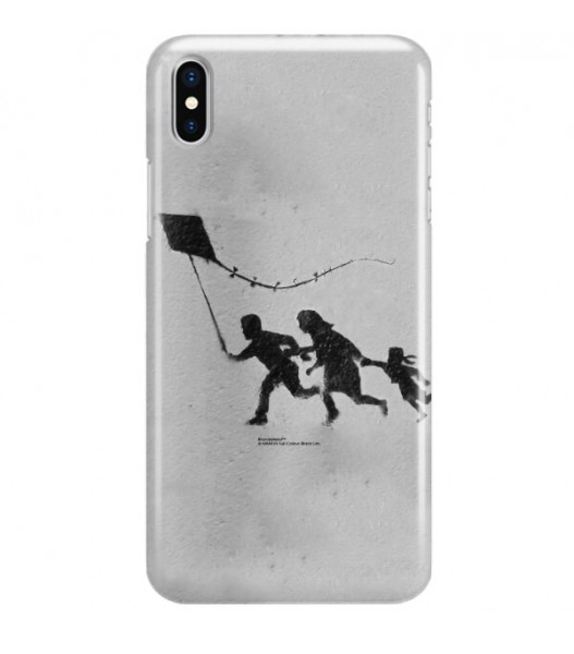 iPHONE X BANKSY WZÓR BK168