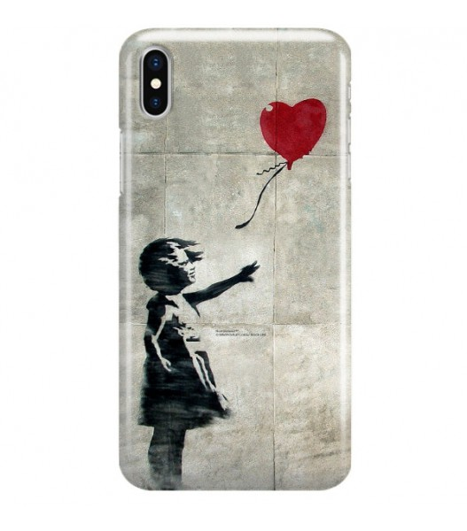 iPHONE X BANKSY WZÓR BK179
