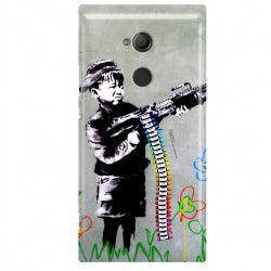 ETUI NA TELEFON SONY XPERIA XA2 ULTRA H3213 BANKSY WZÓR BK162