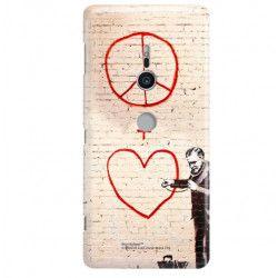 ETUI NA TELEFON SONY XPERIA XZ2 H8216 BANKSY WZÓR BK146
