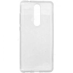 CLEAR 0.5mm ETUI NA TELEFON NOKIA 5.1 TA 1075 TRANSPARENTNY
