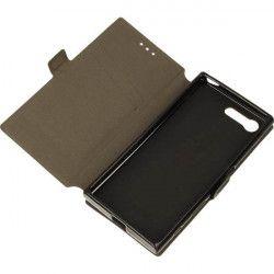 BOOK POCKET ETUI NA TELEFON SONY XPERIA X COMPACT MINI F5321 CZARNY