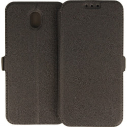 ETUI BOOK POCKET SAMSUNG GALAXY J7 2017 CZARNY