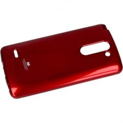 JELLY MERCURY ETUI NA TELEFON LG G3 STYLUS H693 CZERWONY