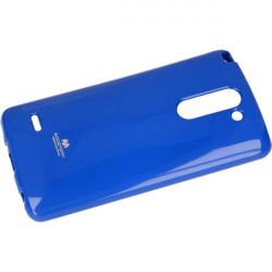 JELLY MERCURY ETUI NA TELEFON LG G3 STYLUS H693 NIEBIESKI