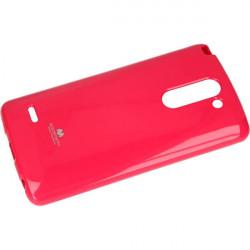 JELLY MERCURY ETUI NA TELEFON LG G3 STYLUS H693 RÓŻOWY