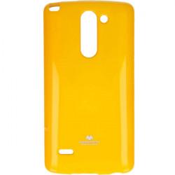 JELLY MERCURY ETUI NA TELEFON LG G3 STYLUS H693 ŻÓŁTY
