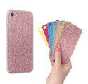 CLEAR 0.3mm ETUI NA TELEFON LENOVO A7010 + 6x WKŁADKA BROKATOWA
