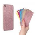 CLEAR 0.3mm ETUI NA TELEFON LENOVO A850 + 6x WKŁADKA BROKATOWA