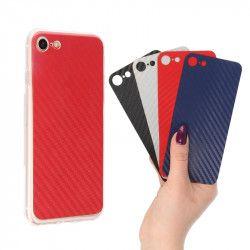 CLEAR + CARBON x4 ETUI NA TELEFON LG Q8 H970