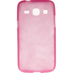 ETUI CLEAR SAMSUNG GALAXY CORE PLUS G350 RÓŻOWY
