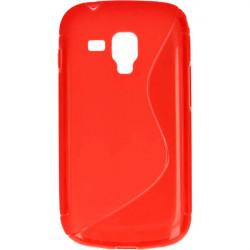 ETUI S-LINE ETUI NA TELEFON SAMSUNG GALAXY TREND S7560 CZERWONY