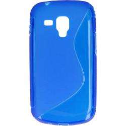 ETUI S-LINE ETUI NA TELEFON SAMSUNG GALAXY TREND S7560 NIEBIESKI
