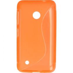 ETUI S-LINE ETUI NA TELEFON NOKIA 530 RM-1018 POMARAŃCZOWY