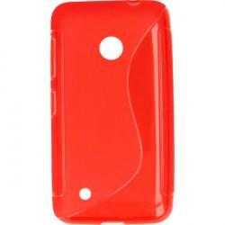 ETUI S-LINE ETUI NA TELEFON NOKIA 530 RM-1018 CZERWONY