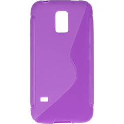 ETUI S-LINE ETUI NA TELEFON SAMSUNG GALAXY S5 MINI G800 FIOLETOWY