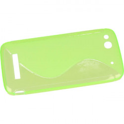 ETUI S-LINE ALCATEL ONE TOUCH IDOL ALPHA ZIELONY