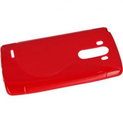 ETUI S-LINE ETUI NA TELEFON LG G3 D855 CZERWONY