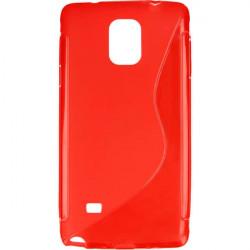 ETUI S-LINE ETUI NA TELEFON SAMSUNG GALAXY NOTE 4 N910 CZERWONY