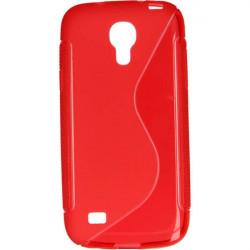 ETUI S-LINE ETUI NA TELEFON SAMSUNG GALAXY S4 MINI I9190 CZERWONY