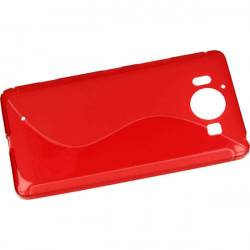 ETUI S-LINE ETUI NA TELEFON NOKIA 950 RM-1104 CZERWONY