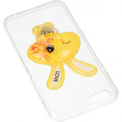 ETUI LIQUID RABBIT IPHONE 6 4.7'' POMARAŃCZOWY