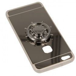 MIRROR SPINNER ETUI NA TELEFON HUAWEI P10 LITE WAS-L09 SREBRNY