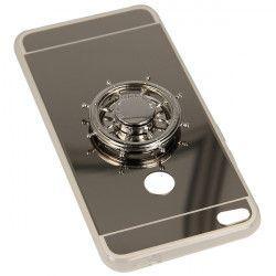 MIRROR SPINNER ETUI NA TELEFON HUAWEI P8 LITE 2017 PRA-LA1 SREBRNY