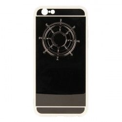 ETUI MIRROR SPINNER IPHONE 6 4,7'' SZARY