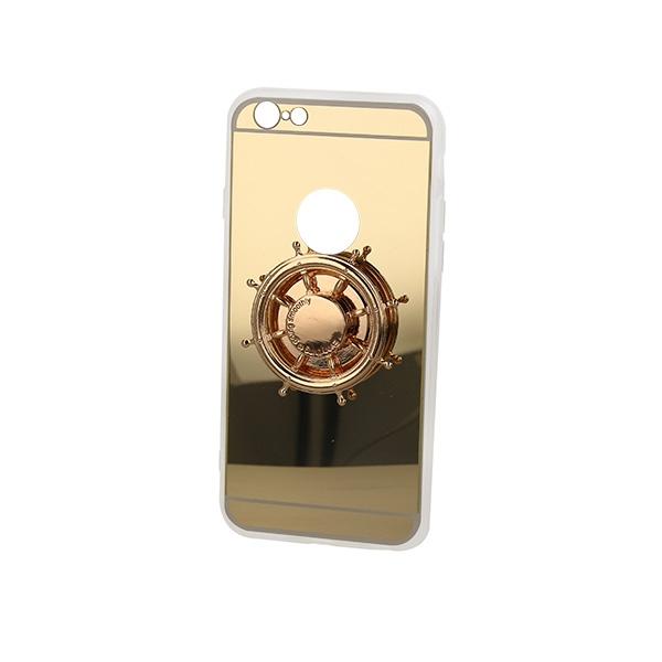 MIRROR SPINNER ETUI NA TELEFON IPHONE 6 4,7''A1586/A1688 ZŁOTY