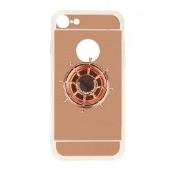 ETUI MIRROR SPINNER IPHONE 7 4.7'' 8 4.7'' RÓŻOWY