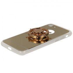 ETUI MIRROR SPINNER IPHONE 7 4.7'' 8 4.7'' ZŁOTY